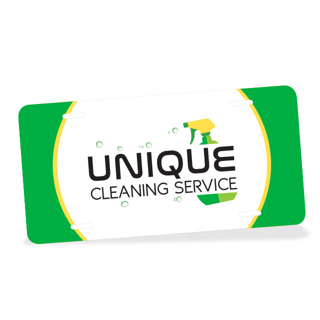 License Plate Unique Cleaning