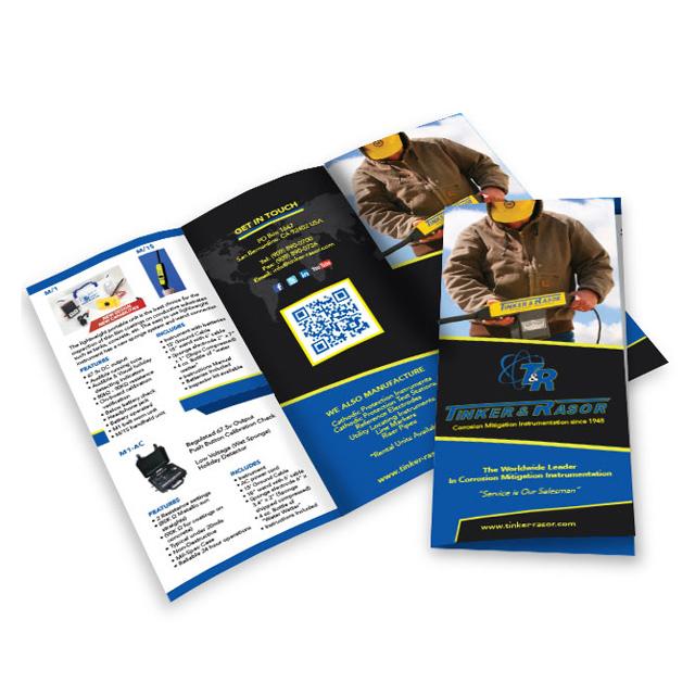 Brochure Design - Tinker & Razor