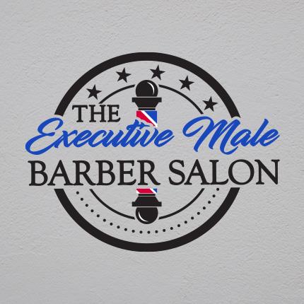 Executive Male Barber Salon - Logo Portfolio