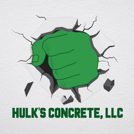 Hulks Concrete - Logo Portfolio