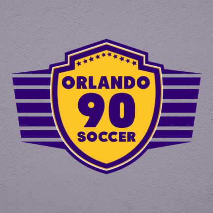 Orlando 90 Soccer - Logo Portfolio