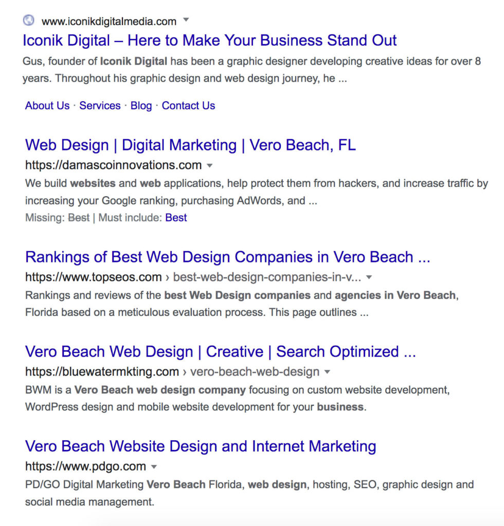 SEO-Search-Results