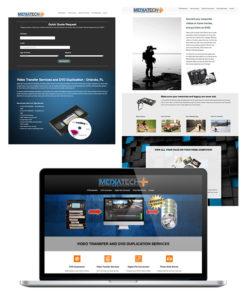 Website Design DVD Duplication