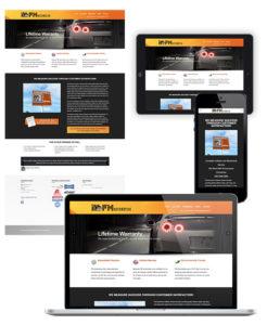 Website Design FM Automotive