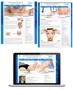 Website Design Orlando Physical Therapy Center