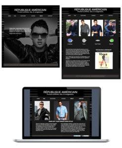 Website Design Republic Americain