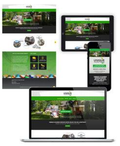 Website Design Unique Cleaning Service
